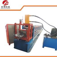 China Steel Frame C Channel Roll Forming Machine, Z Purlin Forming Machine For Structure Building wholesale