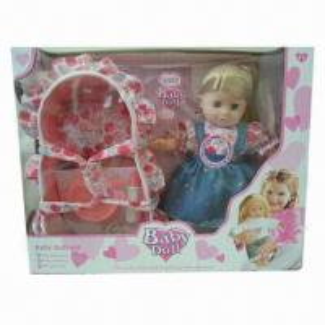China Doll Set with 43.0 x 10.0 x 34.0cm Box Size wholesale