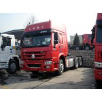 China 10 Wheels HOWO Tractor Head Trucks 6x4 With HW79 High Roof Cab And GVW 25 Tons wholesale