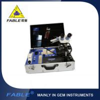 China Portable Jewelry Gem Testing Kit  Fable Protable Identification Travel Lab With 8 / 10 / 16 Items wholesale