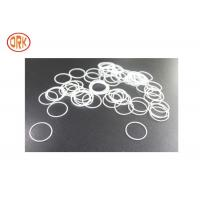 China White Silicone O Rings Oil Resistance For Home Appliance Rohs wholesale