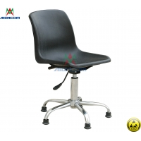 China PU Leather 100kgs Load Used Antistatic Lab ESD Chairs wholesale