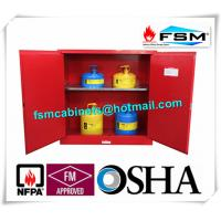 China 30 Gallon Chemical Storage Lockers , Safety Containers For Flammable Liquids wholesale