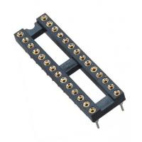 China 2.54mm IC CardRound Pin Header 2*14P DIP H=3.0 L=7.43 Row Of Pitch 7.62 wholesale