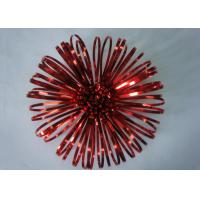 """China 5"""" Luxury Fancy bows for New Year decoration , hand made PET Firework Bow wholesale"""