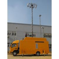 China mobile vehicle mounted telescopic antenna tower and car antenna mast pole wholesale