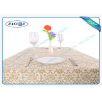 China Printed tnt Environmental Spunbond Non Woven Tablecloths For Hotel wholesale