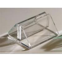 China Triangle Shape Base Acrylic Holder Display Stand For Menu Card wholesale