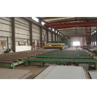 China Roller conveyor steel plate shot blasting machine for Forging , Foudry , Casting Industry on sale