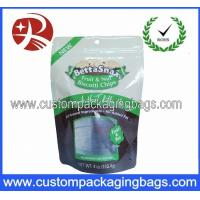 Quality Plastic Ziplock Stand Up Pouches Packaging For Biscuits / Cookies for sale