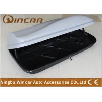 China Universal Rooftop Cargo Box For Luggage , Car Roof Storage Box wholesale