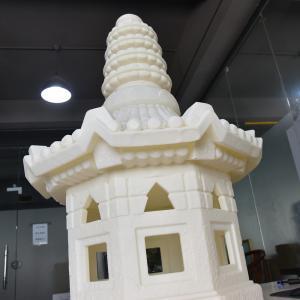 China Large Size Temple FDM PLA 3D Printing Service For Exhibition wholesale