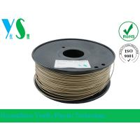 China Markerbot 3mm Wood 3D Printer Filament Dark Brown With 200mm Spool wholesale