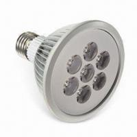 China 7W LED Spotlight Bulb with 0.5 to 0.62 Power Factor and 350 to 560lm Initial Luminous Flux wholesale