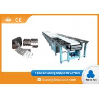 China Small Cleated Belt Chain Conveyor Stainless Steel Plate Chain Conveyor on sale