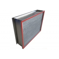 Buy cheap Customized 1000m³/h H14 HEPA Air Filter with Stainless Steel Frame from wholesalers
