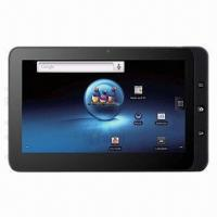 China Full Function 7-inch Tablet PC, HD Screen 1024x600, Bluetooth, Built-in Microphone, 8GB Capacity wholesale