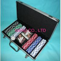 China Personalized Silver Poker Chip Carrying Case To Carry Counter And Porker on sale