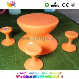 China Modern Design Indoor Kids Chair And Stool Weatherproof for Garden wholesale