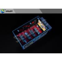 China Minitype Thrilling Action Ride Imax Movie Theaters Interactive 5D Cinema With Cabin wholesale