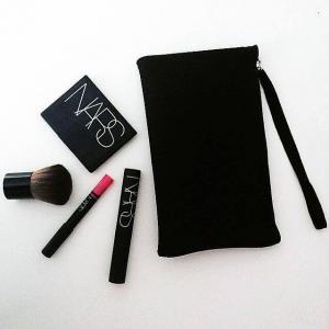 Quality Neoprene Waterproof  Makeup Brush Bags / Custom Cosmetic Bags with Emboss Logo for sale