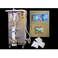 China Multi Function Liquid Pouch Packing Machine 1000LPH For Packing Soy Milk / Mineral Water wholesale