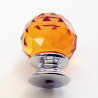 China Triangular Facets Rhinestone Upholstery Buttons Glass And Zinc Alloy Material wholesale