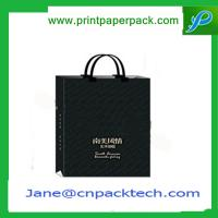 China Custom Printed Carrier Bag Kraft Paper Bag Shopping Bag Garment Bag Gift Paper Bag wholesale