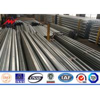 China Yield Strength 460 MPA 4mm Electric Galvanized Steel Pole With Bitumen SGS wholesale