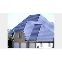 Quality Waterproof Classic Color Stone-coated Steel Roofing , Corrugated Metal Roof for sale