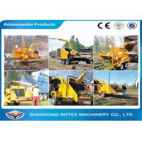 Quality 40 HP Mobile Tractor Driven Wood Chipper for Small Forest Branch for sale