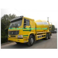 China HOWO 10 wheels Concrete Mixer Truck 10 cubic meter 336hp for Congo 6X4 Yellow color wholesale