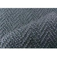 China Beautiful Grey Herringbone Wool Fabric Super Soft For Men Suiting  wholesale