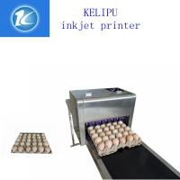 China Multiple Nozzle Egg Industrial Ink Jet Printer For Batch /  Serial Number wholesale