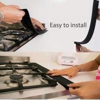 Quality Stove Counter Gap Cover,Flexible Silicone Gap Covers Seal the Gap Next to your for sale
