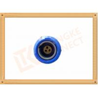 China 3 Pin Push Pull Female Circular Plastic Connectors M0 Shell Size wholesale