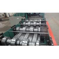 China Building Meta Closed Mouth Floor Deck Roll Forming Machine 0.8-1.6mm Thickness wholesale