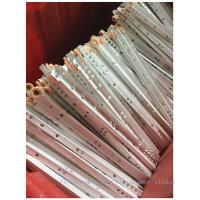 China Abs Wheel Ball Bearing Drawer Runners0.9mm-1.2mm Thickness After Painting wholesale
