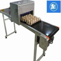 Quality High Efficiency Egg Stamping Equipment For Printing Trademarks And Dates for sale