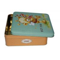 China Bulk custom cookies metal box for sale wholesale