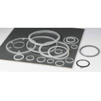 China FDA Custom Molded Silicone Rubber Gasket , Heat Resistant Rubber Seal Ring wholesale