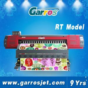 China High Quality Dye Sublimation Textile Printer Digital Fabric Printer Garros RT1801 on sale