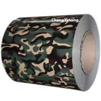 China Camouflage Color Stainless Steel Strip Roll Coil Inner Diameter Φ508 / Φ610MM on sale