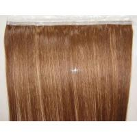 China 100% human no mixed seamless PU skin weft hair wholesale