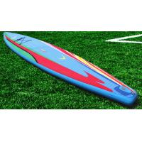 China Customized Funny Inflatable Standup Paddleboard , 3.8m Soft Top Surfboard wholesale