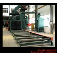 China Steel Plate / H Beam Shot Blasting Machine For Cleaning And Blasting Before Sanding and Painting wholesale