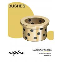 China C90800 Tin Bronze Graphite Plugged Bushings CuSn12 for Injection Mold Machinery wholesale