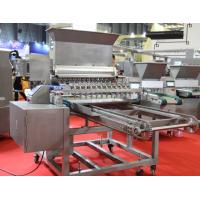 China 12 Nozzles Biscuit Depositor For Cupcake , Industrial Bakery Depositor Machines wholesale