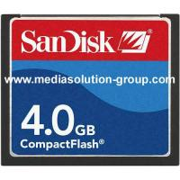 Buy cheap Compact Flash (CF) Cards with SanDisk Brand from wholesalers