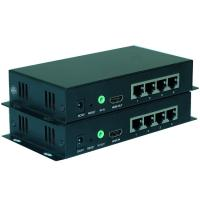 China Long Length 1080P HDMI Fiber Extender IR Remote Control With 0-20KM Distance wholesale